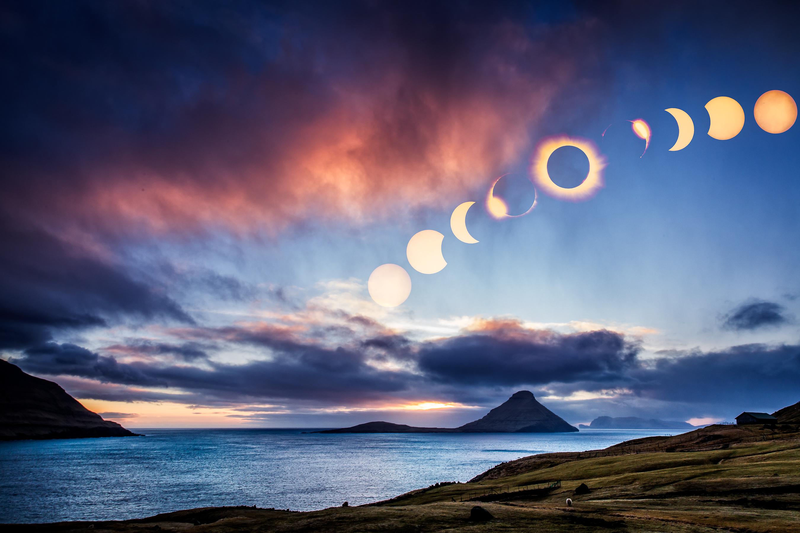 Total Solar Eclipse 20 March 2015 Faroe Islands
