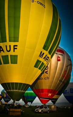 Ballon Event at Aero Show Löhningen, Switzerland