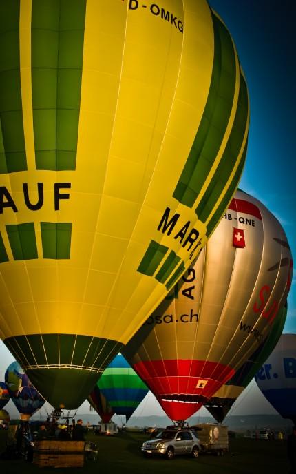 Ballon Event at Aero Show Löhningen, Switzerland