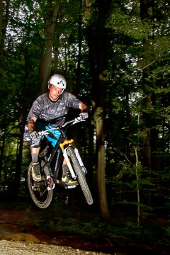 Downhill Cross Biking by Denis