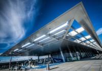 Zürich Airport Visiterdeck Terminal B, Zürich, Switzerland