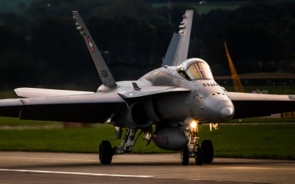 FA-18, Payerne Air Force Base, Switzerland