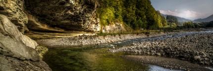 Sense Water River, Berne, Switzerland