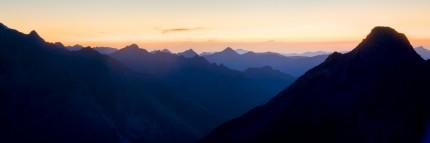 View from Weismies, Switzerland