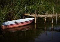 Boat Usedom Island, Germany