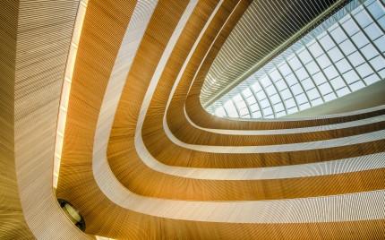 Santiago Calatrava - Library at the Institute of Law Zürich, Switzerland