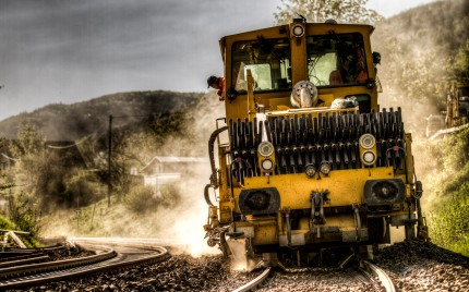 Train Track Cleaning Machine