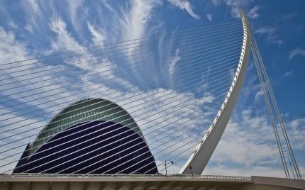 Santiago Calatrava - Jamonero e Agora, Valencia, Spain
