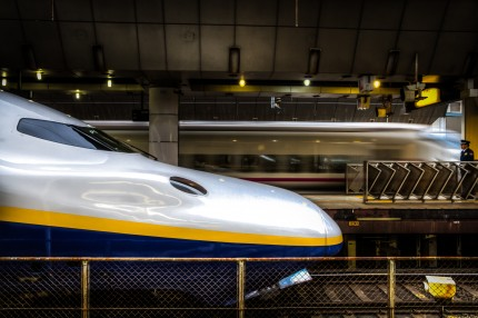 Shinkansen Bullet Train, Tokyo Station