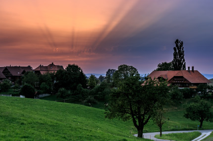 """Crazy"" Skies over Schwarzenburg"