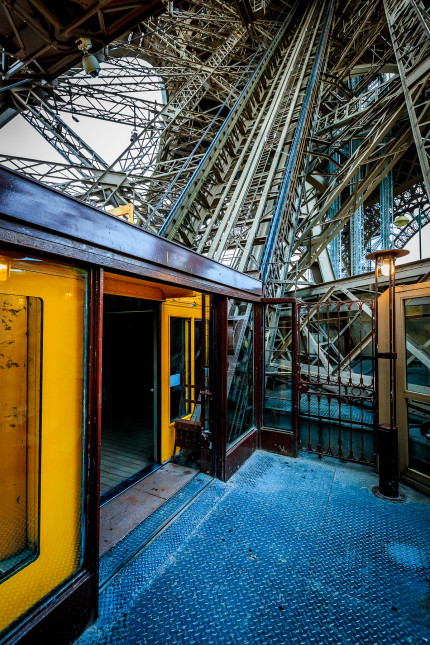 Paris - Eiffel Tower Elevator