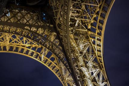 Paris - Eiffel Tower up close