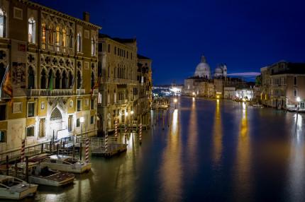 Venice - View from Ponte del Academia