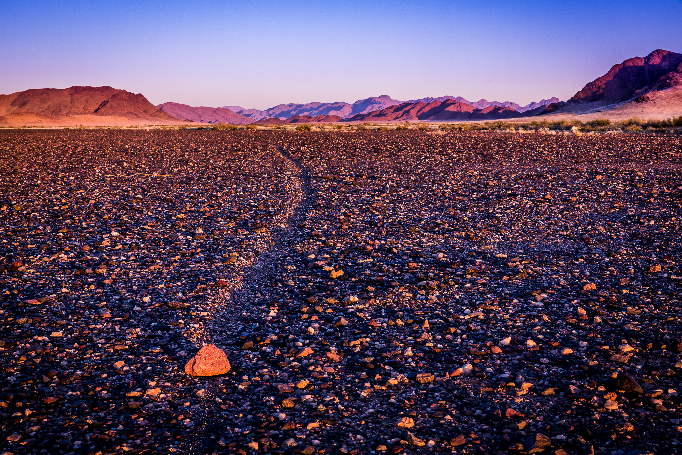 The Racetrack, Namibia