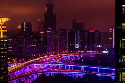 Shanghai Yan-An Intersection