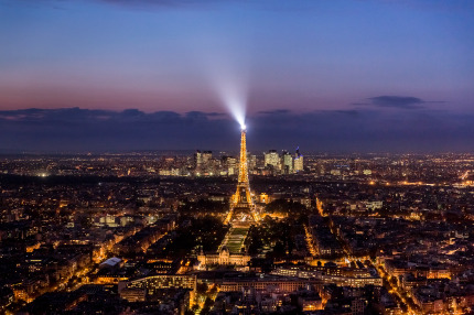Paris, View from Tour Montparnasse