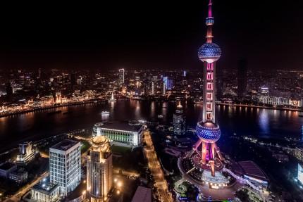 Shanghai Pearl Tower and Bund