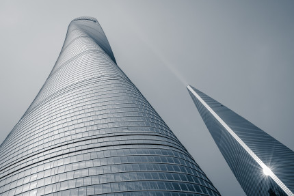 Shanghai Tower and Park Hyatt