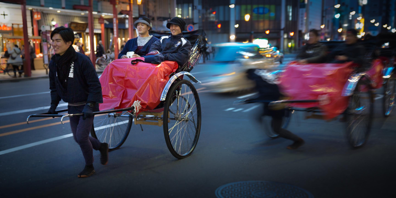Tokyo street action