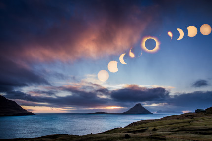 TotalSolar Eclipse 20 March 2015 Faroe Islands